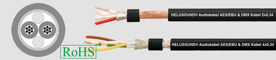 Przewód DMX 2 X 0,34, 4 X 0,34