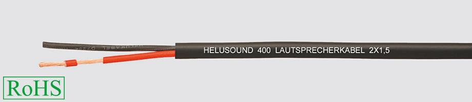 Przewód głośnikowy HELUSOUND 400 2 X 1,5