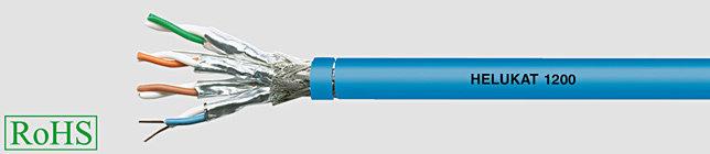 HELUKAT 1200 4x2XAWG22/1 Przewód lan, s-stp izol żyły pe, opona frnc