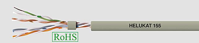 HELUKAT 155 4x2XAWG24/1 Przewód lan, utp izol żyły pe, opona pvc