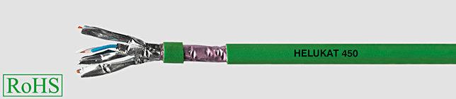 HELUKAT 450 4x2XAWG24/1 Przewód lan, f-ftp izol żyły pe, opona frnc